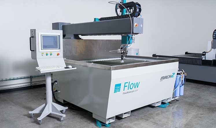 flow water jet machine