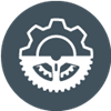 Gear icon.  FlowXpert can simplify your process.